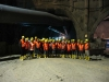 Bildungsausflug B29-Tunnel