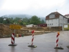 Baustelle der neuen Sporthalle