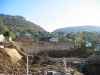 Baustelle für neue Sporthalle